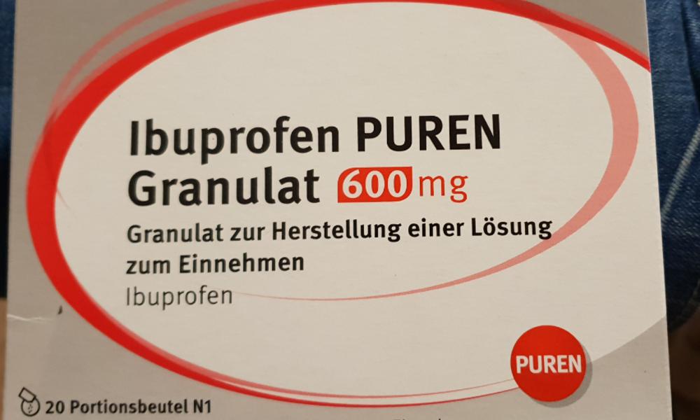 Wie Lange Darf Man Ibuprofen 600 Nehmen